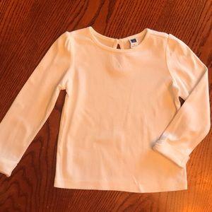 Plain white shirt by Janie and Jack